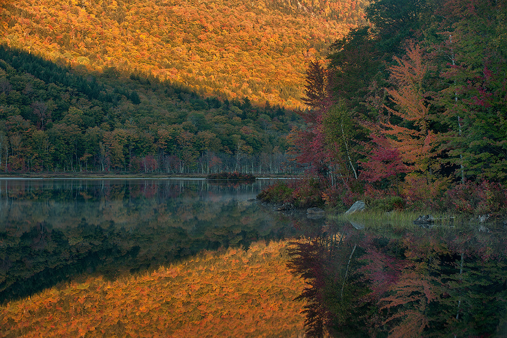 First Light at Basin Pond