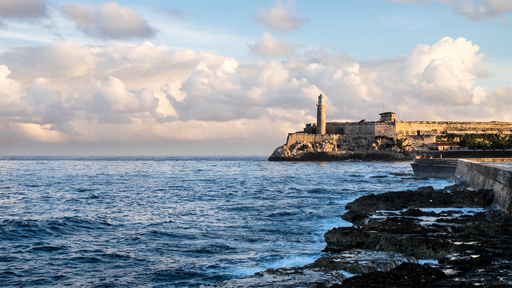 Early Light on the Malecon – Havana Cuba